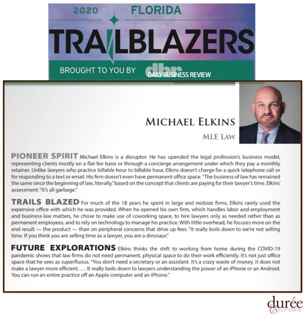 Florida Trailblazers Award